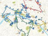 France Sightseeing Map Paris Hop On Hop Off Combo Sightseeing Bus and Seine River Cruise
