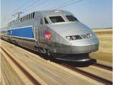France Tgv Map Bernina Express Train Rail Europe