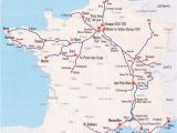 France Tgv Network Map Image Detail for France Train Map Of Tgv High Speed Train System