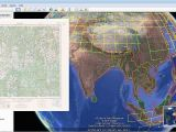 Free topo Maps Canada Download topographic Maps From Google Earth
