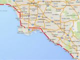 Freeway Map Of southern California Driving the Pacific Coast Highway In southern California
