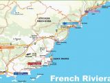 French Riviera Map France Map Of Nice France and Italy French Riviera Ca Te D Azur