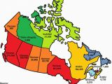 French Speaking Provinces In Canada Map This Map Shows the Most Popular Language In Each Province