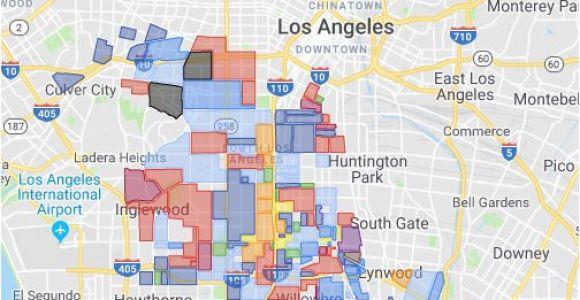 Gangs In California Map Gangs Of Los Angeles 2019 Google My Maps