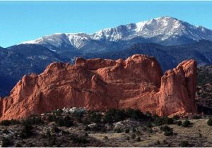 Garden Of the Gods Colorado Springs Map Pikes Peak and Garden Of the Gods are Nearby Picture Of Boulder