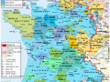 Geographical Map Of France Early Modern France Wikipedia