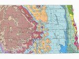 Geologic Map Of north Carolina Geologic Maps Of the 50 United States