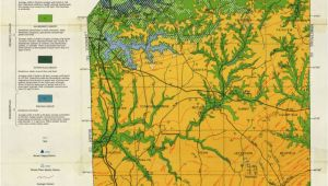 Geological Map Of Arizona Generalized Geologic Map Of butler County and Locations Of Selected