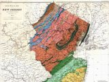 Geological Map Of California New Jersey Historical Maps