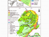Geological Map Of Canada Maps Showing the Geographic Location Of the Barberton Greenstone