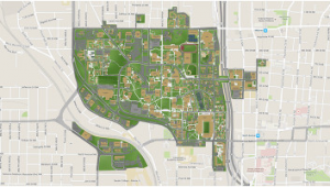 Georgia College Campus Map Georgia Tech