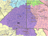 Georgia Colleges Map Map Georgia S Congressional Districts