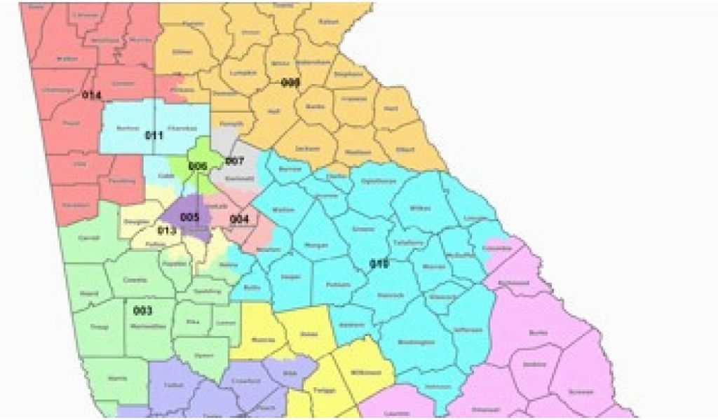 Map Of Georgia Colleges.Georgia Colleges Map Map Georgia S Congressional Districts