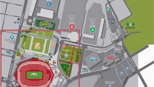 Georgia Dome Parking Map atlanta Airport Parking Map New Stadium Maps Mercedes Benz Stadium