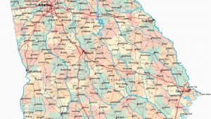 Georgia Highways Map Traffic Map southern California Printable Georgia Road Map Ga Road
