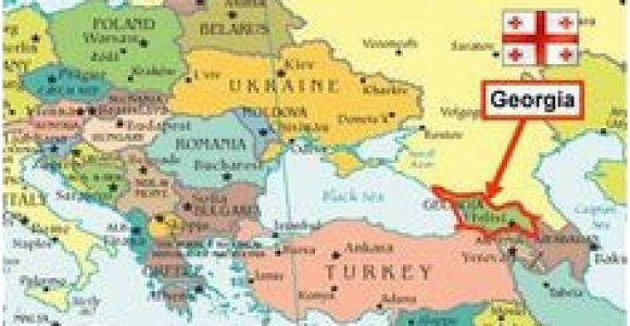 Europe Map Georgia Georgia In Europe Map | secretmuseum