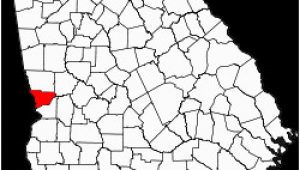 Georgia Map by Counties
