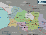 Georgia Map Europe Georgia Country Travel Guide at Wikivoyage
