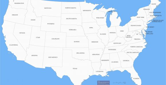 Georgia Maps with Cities United States Map East Coast Refrence Us Canada Map with Cities