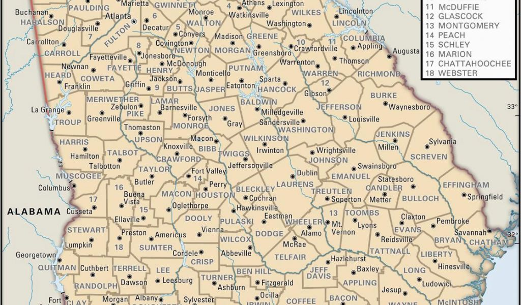 Georgia State Map with Counties State and County Maps Of ... on georgia county map printable, georgia county by county, georgia highway maps by county, georgia map territory, georgia state bird, georgia state animal, georgia state hood, georgia county map of gold, georgia counties by square miles, georgia county map of ga, georgia cities, georgia coastline,