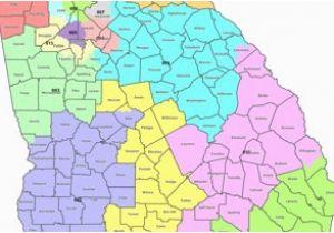 Map Of Georgia District 6.Georgia State Senate District Map Georgia S Congressional Districts