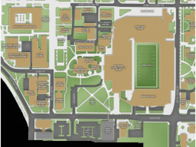 Map Of Georgia Tech Campus.Georgia Tech Parking Map Gt Georgia Institute Of Technology Campus