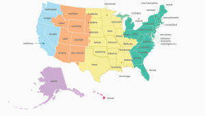 Georgia Time Zone Map Us Time Zone Map