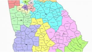 Georgia Universities Map Map Georgia S Congressional Districts