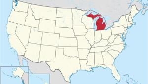 Gladwin Michigan Map Michigan Wikipedia