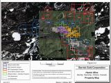 Gold Mines In Canada Map Ex 99 1