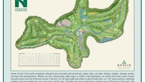 Golf Course Map Of Ireland Hoover Country Club Course Map Hcc Golf Our Beautiful Country