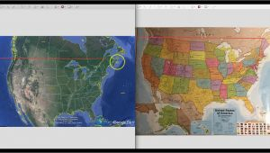 Google Earth Maps Ireland Printable north America Map and Satellite Image Large Wall United