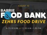Google Maps Barrie Ontario Canada Barrie Food Bank Zehrs Food Drive Harvest Bible Chapel