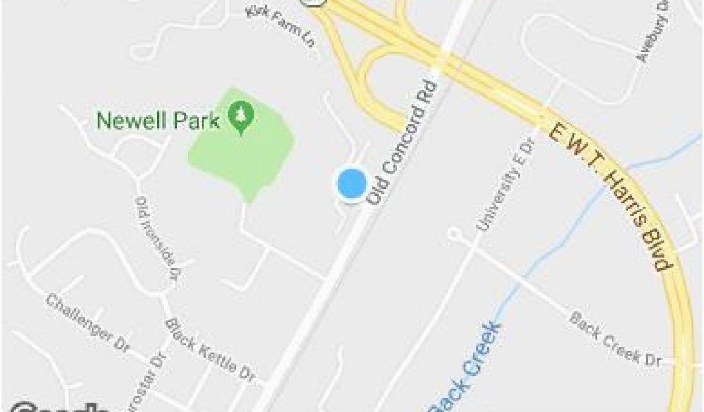 Google Maps Charlotte north Carolina Charlotte Nc Zip Code Map ...