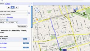 Google Maps Directions toronto Ontario Canada A Closer Look at Ttc Routes On Google Maps