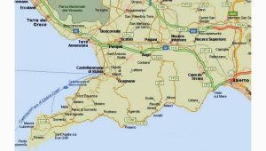 Google Maps Salerno Italy Amalfi Coast tourist Map and Travel Information