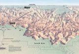 Grand Canyon Colorado River Map north Rim Grand Canyon Map Awesome Map Las Vegas and Grand Canyon