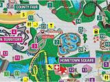 Great America California Map Park Map Six Flags Great America