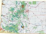 Green Mountain Falls Colorado Map Colorado Dispersed Camping Information Map