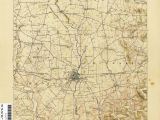 Greenfield Ohio Map Ohio Historical topographic Maps Perry Castaa Eda Map Collection