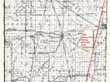 Greenville Michigan Map 1795 Greenville Treaty Line Map Randolph County Historical society