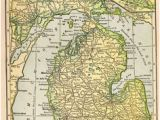 Greenville Michigan Map 30 Best Maps Images Map Of Michigan Antique Maps Lake Michigan