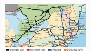 Greyhound Canada Route Map Greyhound Route Map 96 Images In Collection Page 1