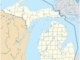 Gwinn Michigan Map Little Sable Point Light Revolvy