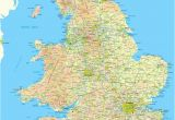 Hampshire On Map Of England Map Of England and Wales England England Map Map England