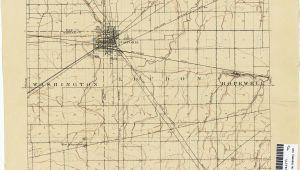 Hancock County Ohio Map Adults