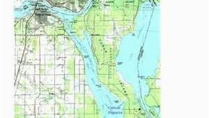 Hand Map Of Michigan Map Of Sugar island Off Of Sault Ste Marie Michigan and Sault Ste