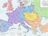 Height Map Europe A Map Of Europe In 1812 at the Height Of the Napoleonic