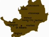 Herts England Map Hertfordshire Travel Guide at Wikivoyage