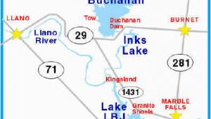 Highland Lakes Texas Map Texas Highland Lakes Map Business Ideas 2013